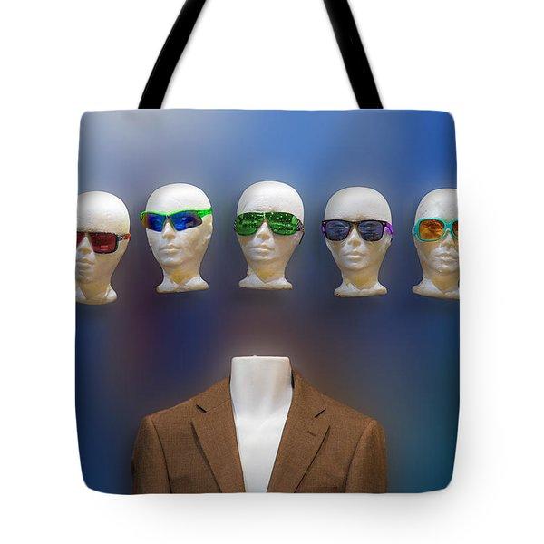 Who Shall I Be Today Tote Bag