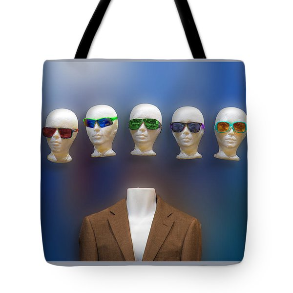 Who Shall I Be Today Tote Bag
