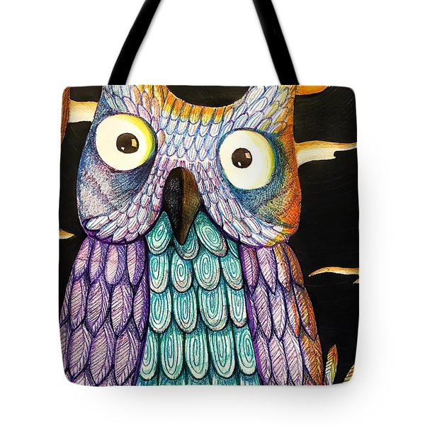 Whom? Tote Bag by Jame Hayes