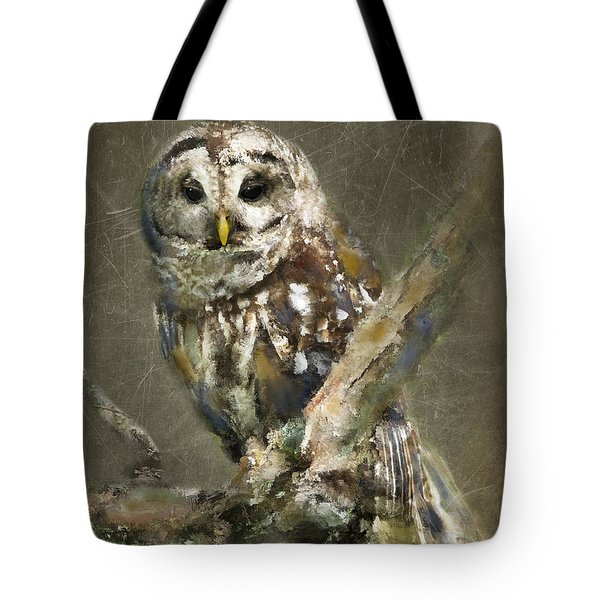 Whoooo Tote Bag by Betty LaRue