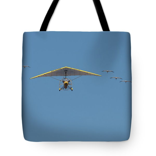 Whooping Cranes And Operation Migration Ultralight Tote Bag
