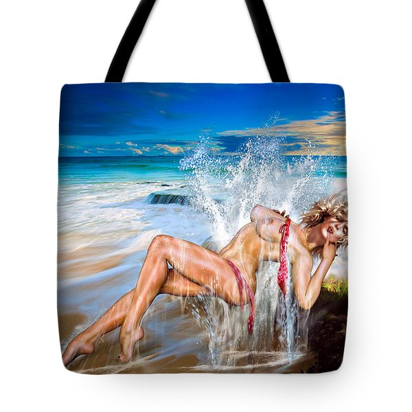 Whoops  ...  Marylin Tote Bag