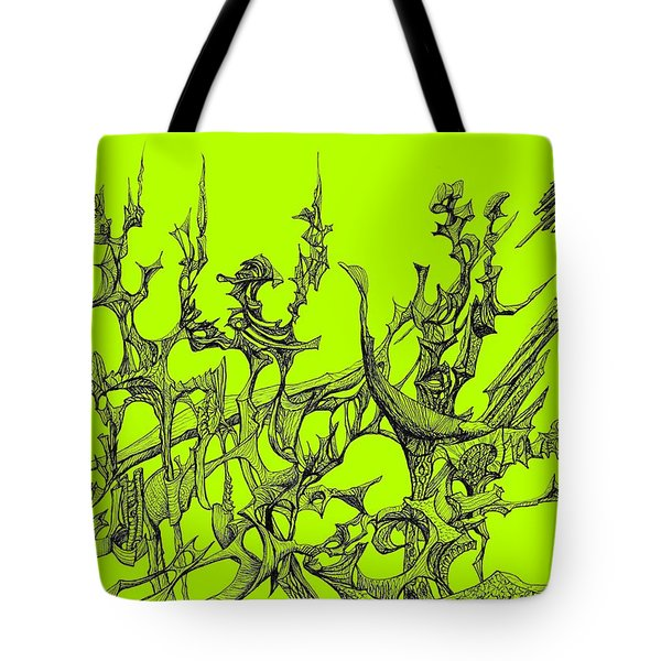 Whooshh -  Lime Background Tote Bag
