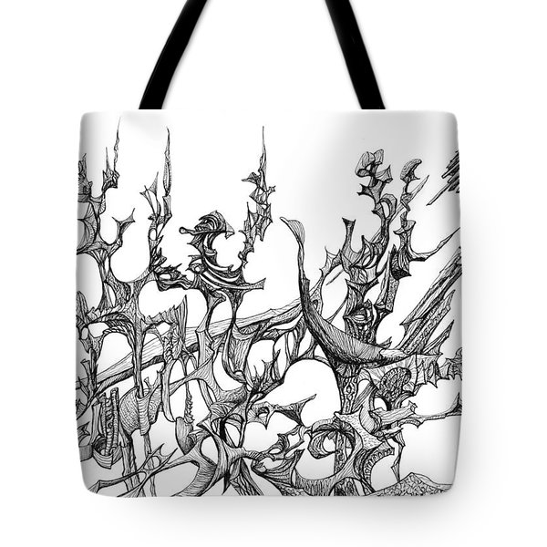 Whooshh Tote Bag by Charles Cater