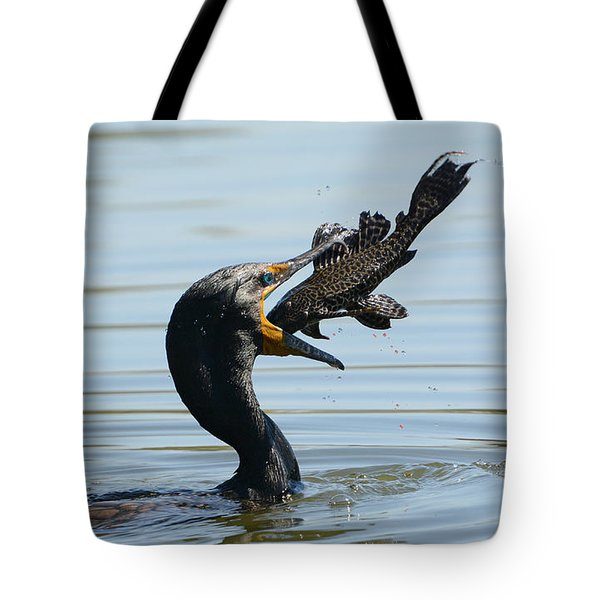 Whopper Tote Bag by Fraida Gutovich