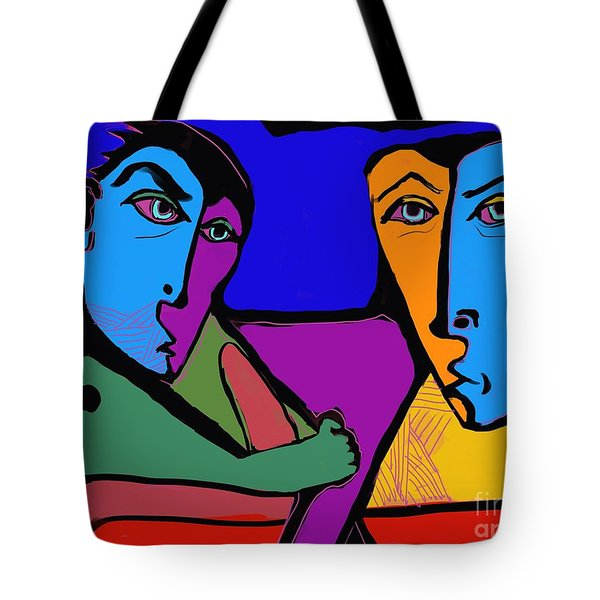 Who's Doing This? Tote Bag