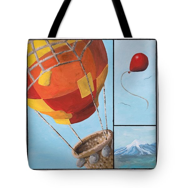 Who's Flying This Thing? Tote Bag