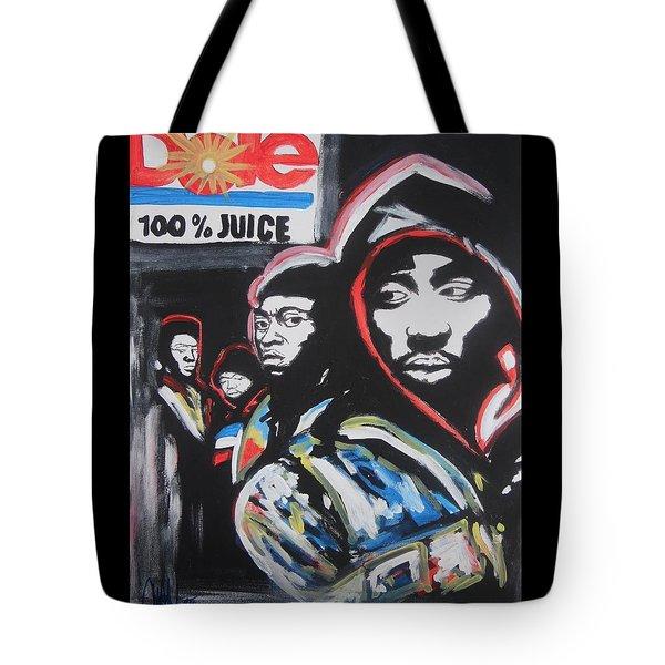 Whos Got Juice Tote Bag