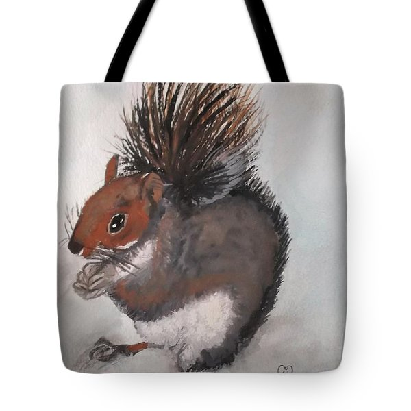 Who's Had Me Nuts Tote Bag