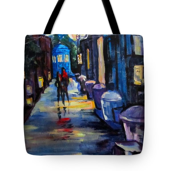 Who's Heading Back Tote Bag