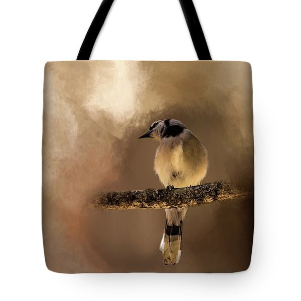 Who's There? Tote Bag by Cyndy Doty