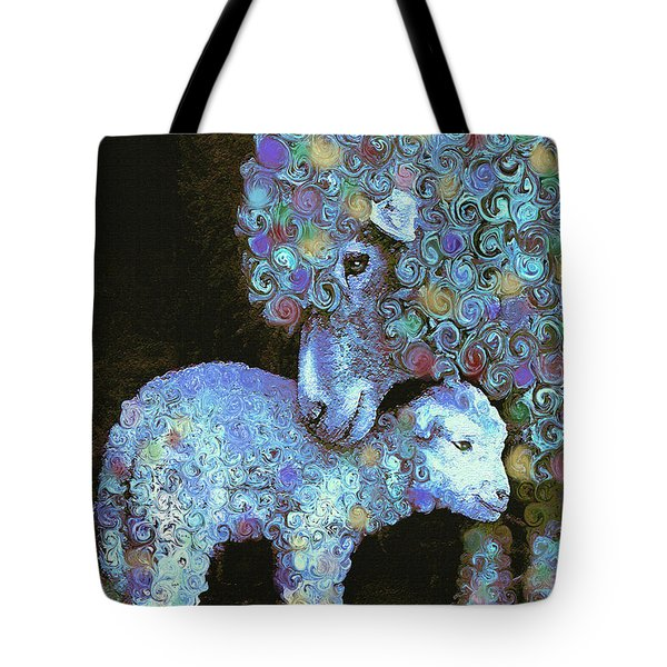 Whose Little Lamb Are You? Tote Bag