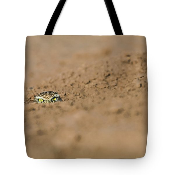 Tote Bag featuring the photograph Whozat by Laura Roberts