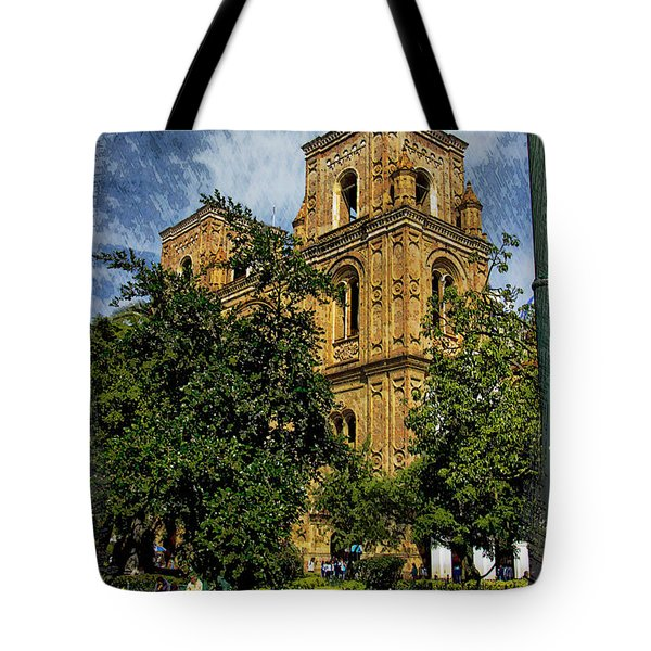 Why Do I Live Here? II Tote Bag by Al Bourassa