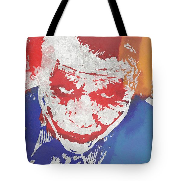 Why So Serious Tote Bag by Dan Sproul