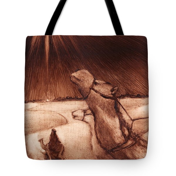 Why Would Wisemen Follow A Star? Tote Bag by Linda Anderson