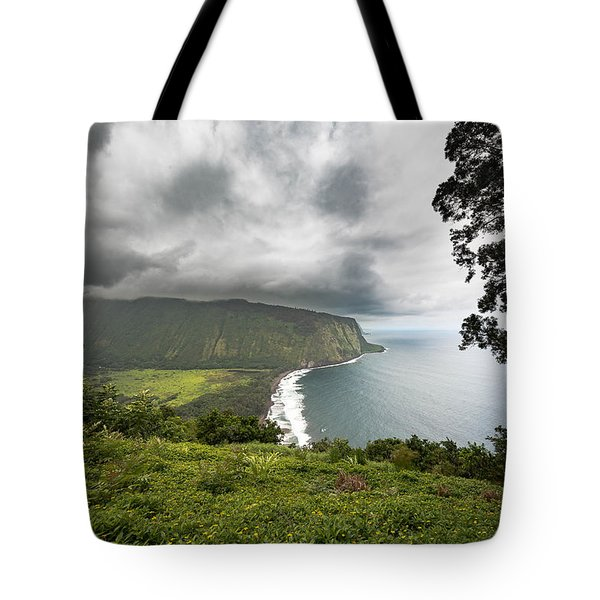 Wiapio Valley Tote Bag