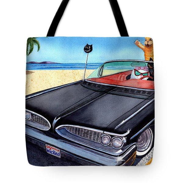 Wicked Kitty's Catalina Tote Bag