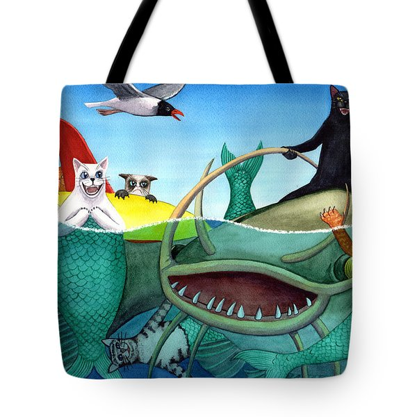 Wicked Kitty's Catfish Tote Bag