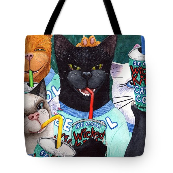 Wicked Kitty's Catnip Cooler Tote Bag