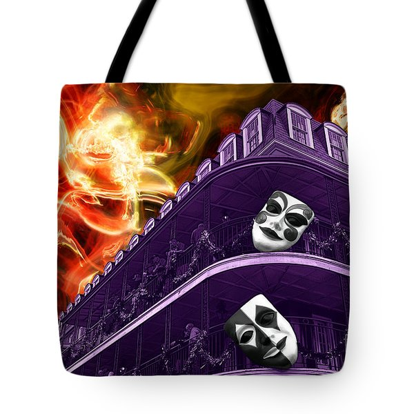 Wicked Nola Tote Bag by John Rizzuto