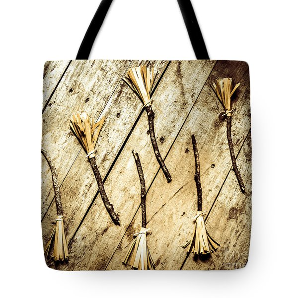Wicked Witch Broomsticks Tote Bag