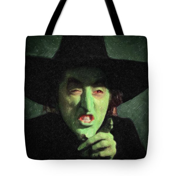 Wicked Witch Of The East Tote Bag
