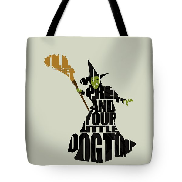Wicked Witch Of The West Tote Bag