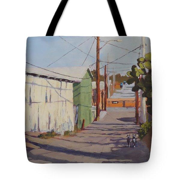 Wickenburg Alley Cats Tote Bag