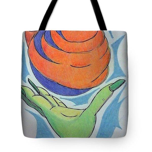 Wicket Fireball Tote Bag by Loretta Nash