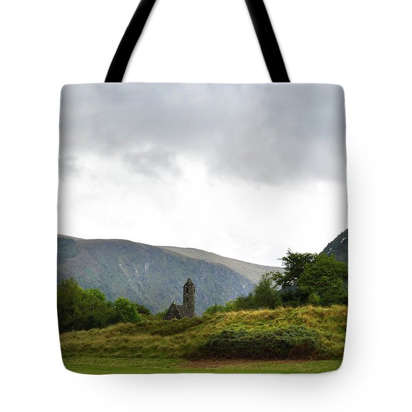 Tote Bag featuring the photograph Wicklow Mountains by Terence Davis