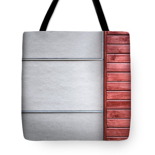 Wide And Narrow Lines Tote Bag