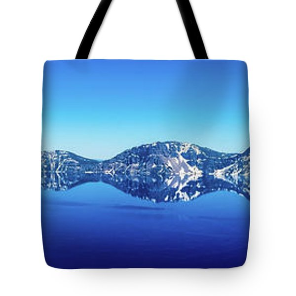 Tote Bag featuring the photograph Wide Crater Lake by Jonny D