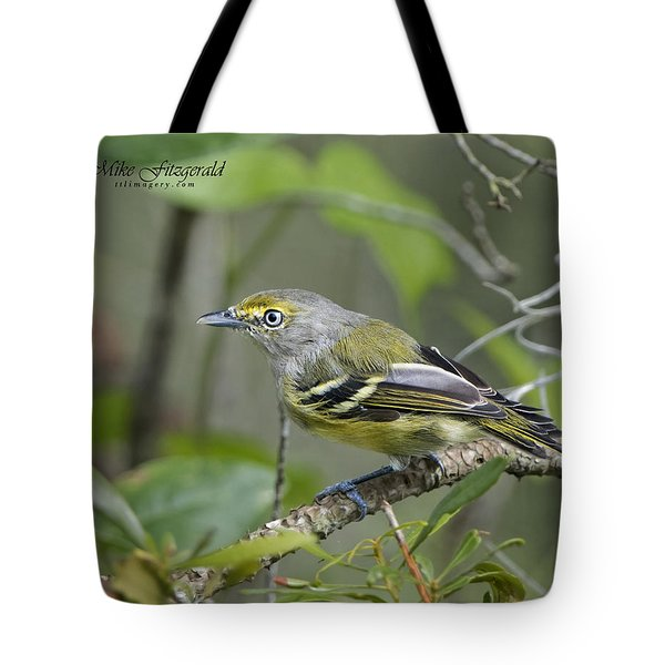 Wide Eyed And White Eyed Tote Bag