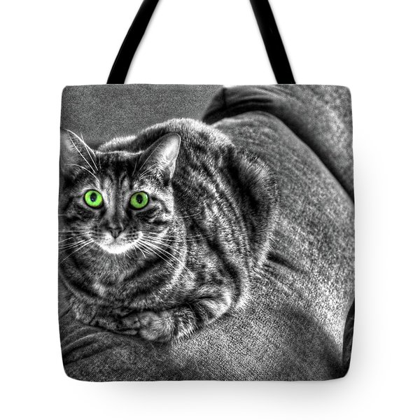 Wide Eyes Tote Bag