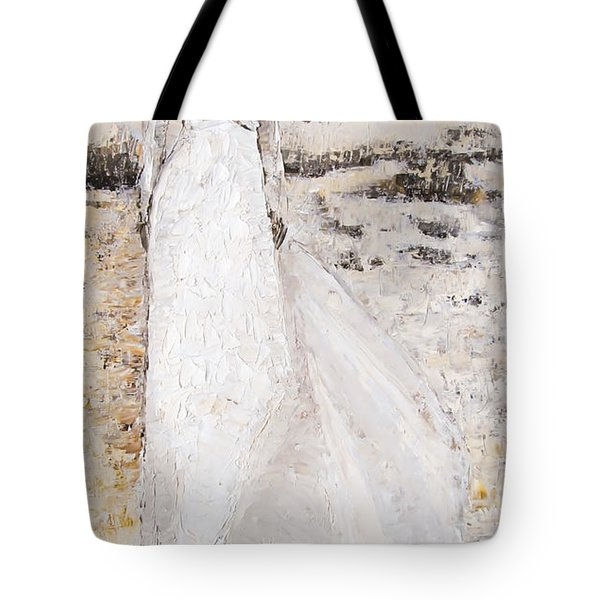Out On The Wiley Windy Moors Tote Bag