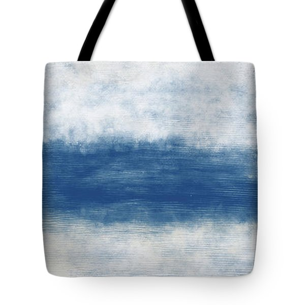 Wide Open Ocean- Art By Linda Woods Tote Bag