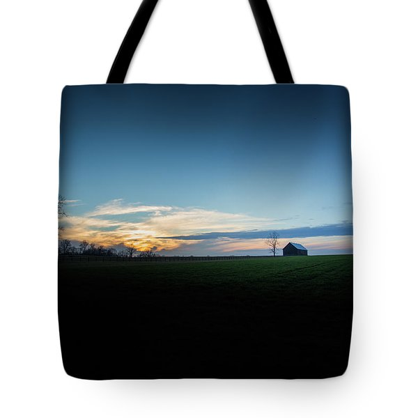 Tote Bag featuring the photograph Wide Open Spaces by Shane Holsclaw