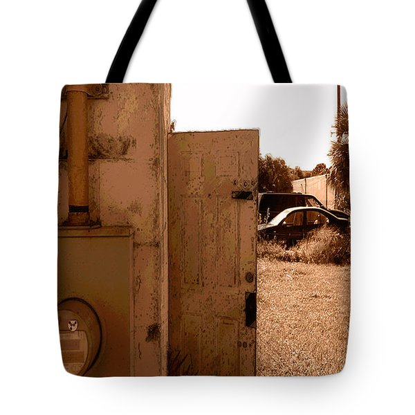 Wide Open Tote Bag