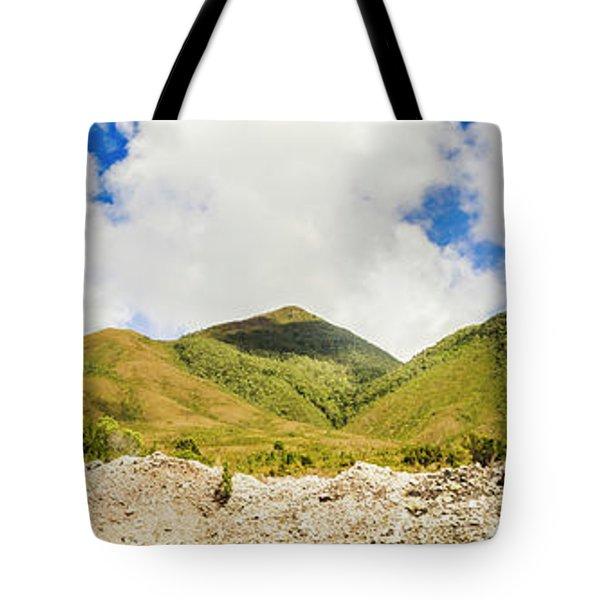 Wide West Coast Of Tasmania Tote Bag