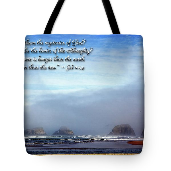 Wider Than The Sea Tote Bag