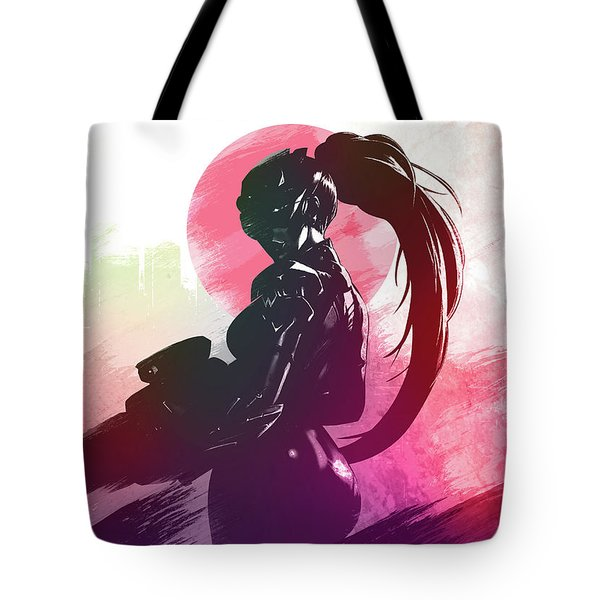 Widowmaker Overwatch Tote Bag
