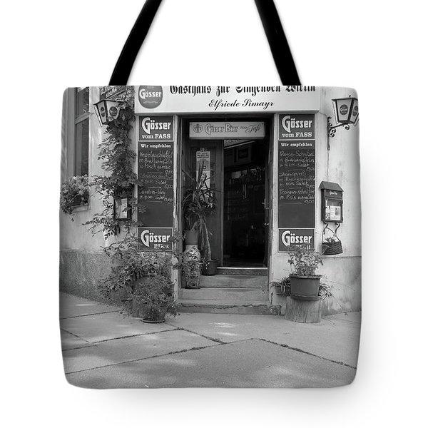 Wiener Wirtshaus Tote Bag