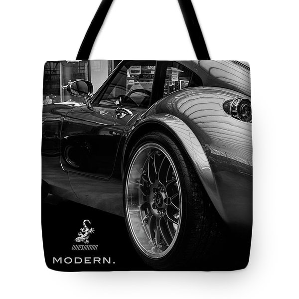 Wiesmann Mf4 Sports Car Tote Bag by ISAW Gallery