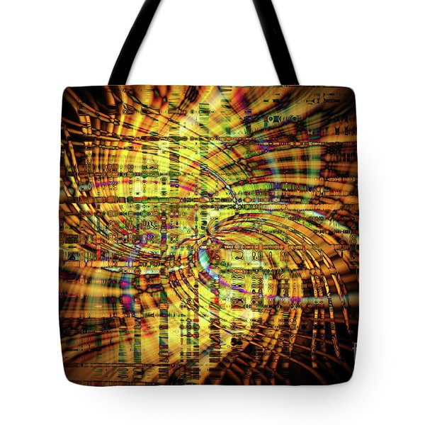 Wigged Out Tote Bag