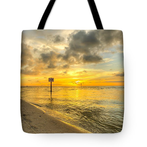 Wiggins Pass State Park Tote Bag