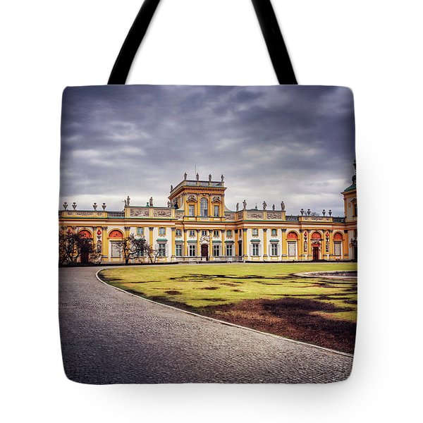 Wilanow Palace In Warsaw  Tote Bag