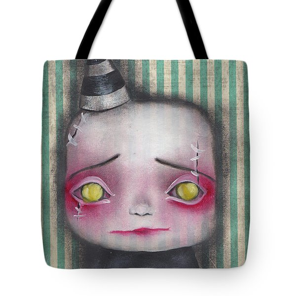 Wilbert  Tote Bag by Abril Andrade Griffith