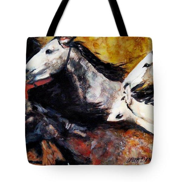Wild 5 Tote Bag