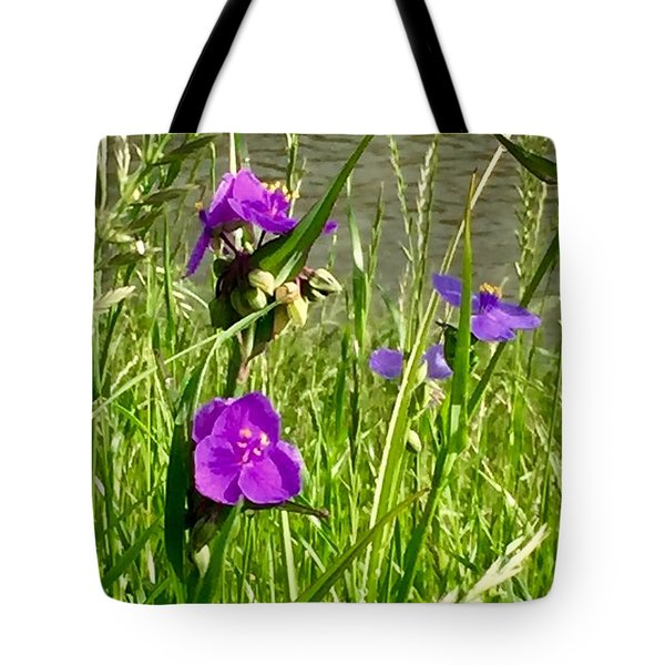 Wild About Violet Tote Bag